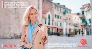 Atentos a la convocatoria de ayudas para la digitalización del turismo en Andalucía