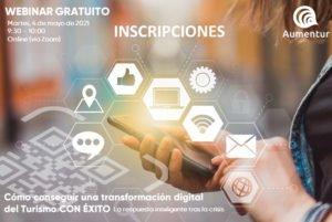WEBINAR – Cómo conseguir una transformación digital del turismo extremeño CON ÉXITO